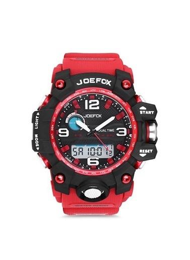 Joefox Saat Kırmızı